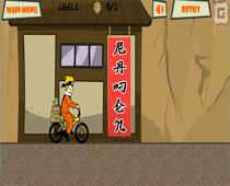 Наруто и доставка лапши на велосипеде