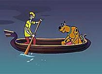 Быстрая лодка со Скуби-ду