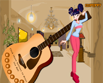 Музыкальная одевалка Музы