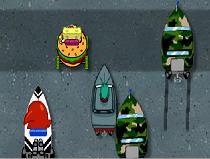 Подводные гонки Спанчбоб