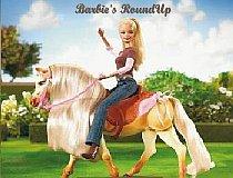 Барби ловим поросят на ферме
