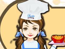 Барби приготовление пиццы