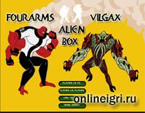 Ben10 коробка с пришельцами