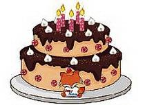 Торт ко дню рождения 2