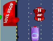 Оттеснить автомобили