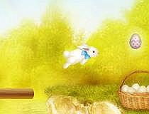 Перевести зайцев на другой берег