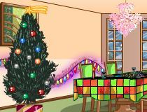 Уборка комнаты перед новым годом