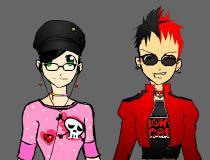 Панк против Эмо