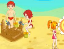 Обслуживание на песчаном пляже
