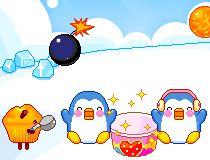 Сбор сладостей пингвинами