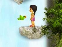 Игра прыжки по водопаду