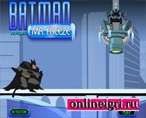 Фриз и Бетмен схватка
