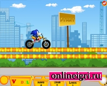 Мощные мотоциклы и Соник