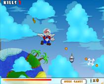Марио и монстры подводного мира