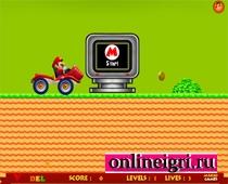 Марио гонка на тракторе