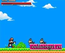 Супер Марио воюет с оружием
