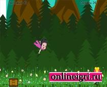 Маша и медведь полет над лесом
