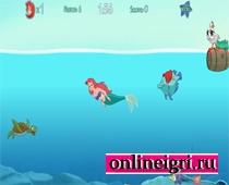 русалочка и подводные клады