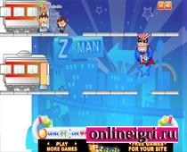 Супермена дети на поезде