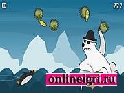 Стрельба пингвином