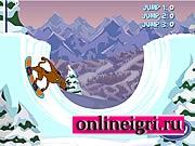Скуби Ду и Шегги на сноуборде