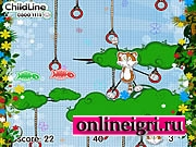 Кот на дерево лезет
