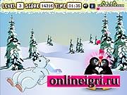 пингвин и поцелуи