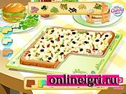 Пицца квадрат