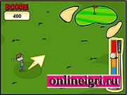 удар в гольфе