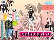 Летняя одевалка для девочек