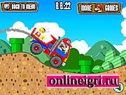 грузовик с Супер Марио