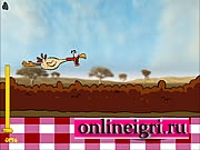 Курица в полете