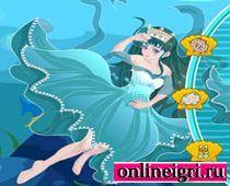 Для девушек подводная принцесса