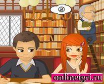 Для девушек поцелуи в библиотеке
