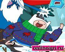 Картун Нетворк: побег в снегу