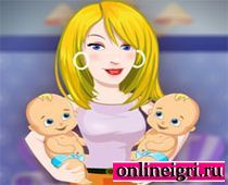 Барби молодая мамочка