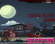 Воин против зомби слева направо