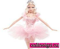 Барби занимается балетом