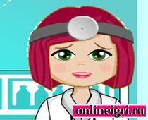 Барби в больнице врач