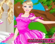 Барби в танцевальном наряде