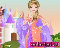 Барби принцесса с замком