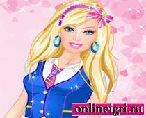 Одеваем Барби в школу