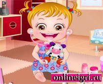 Малышка Хейзел на операции