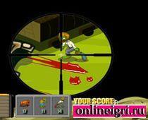 Снайпер ассасин против зомби