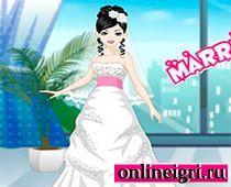 Для девочек одевалки про свадьбу
