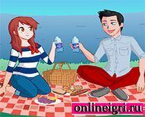 Для девочек одевалки пары на пикнике пары
