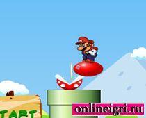 Мир платформера с Марио