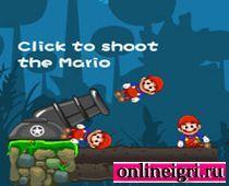 Стреляем Супер Марио из пушки