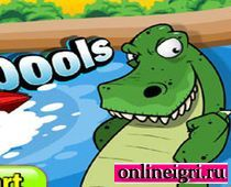 Убегаем на катере от крокодилов