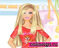 Барби с сияющими волосами